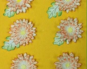 Orange Daisy Embellishments
