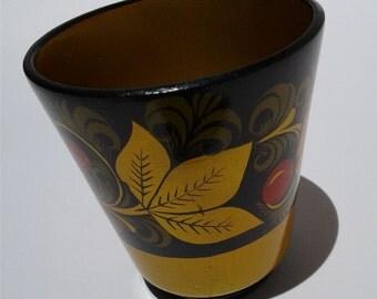 Russian Khokhloma Cups (3) (161016F)