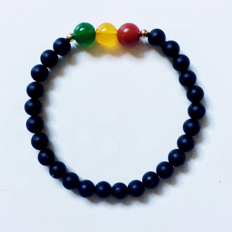 beaded bracelets womens bracelets mens bracelets rasta