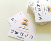 Business Swing Tags, garment tags, packaging labels