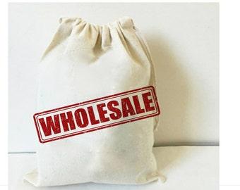 10x Bulk calico drawstring bag, Gift bag, Favor Bag, Shoe bag, packaging bag, calico bag, blank bags, plain bags, wholesale bags, craft bag