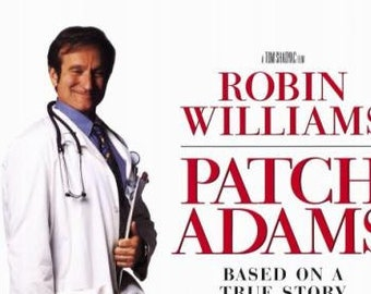 Patch Adams VHS Inspirational Robin Williams Movie