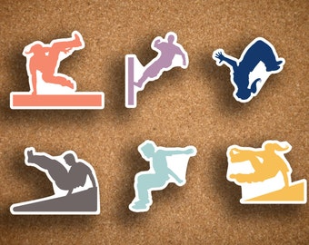 Parkour, Free Running Planner Stickers for Inkwell Press Planner
