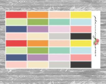 Label Stickers || 32 Planner Stickers