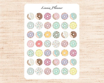 Donuts (Matte planner stickers, perfect for planners)