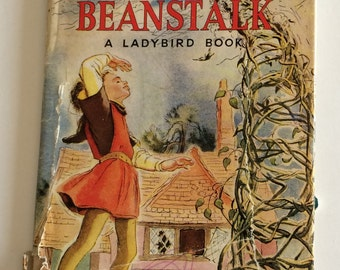 1957 Ladybird Book ~ The Story of Jack and The Beanstalk