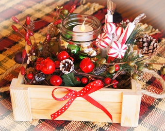 Jiggle Jar!/ Christmas Centerpiece