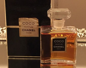 COCO CHANEL PERFUME 1/2 oz size 95% full with box