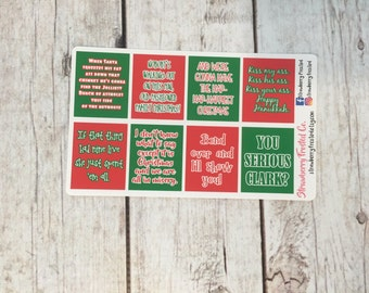 MINI Christmas Vacation Inspired Quote Boxes-