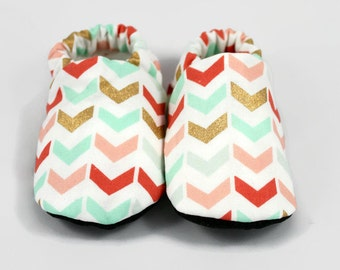 Pastel, tribal baby booties, pastel baby shoes, tribal baby booties, newborn baby booties, infant baby booties, crib shoes, soft sole shoes
