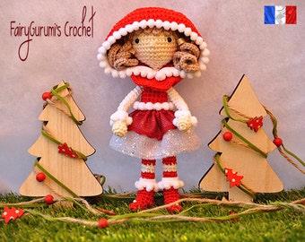 Zelia Christmas doll
