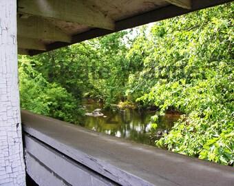 Hunsecker's Mill Covered Bridge No 1