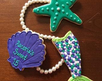 "2 Dozen ""Under the Sea"" Cookies"