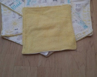 You are my sunshine fabric washclothes