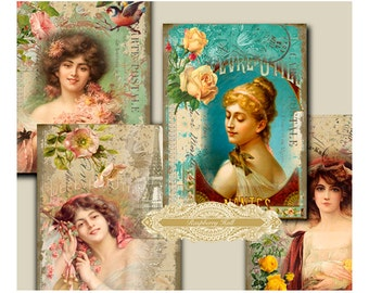 Elegance - digital download - cards - journals - notebooks - scrapbooking - crafts - Raspberry Hall