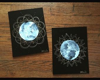 Mandala Moon