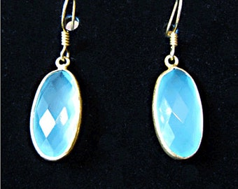 SALE * * Chalcedony Earrings