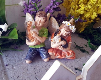 Miniature Fairies Daisy and Dylan