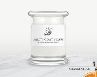 Orange Clove Soy Candle
