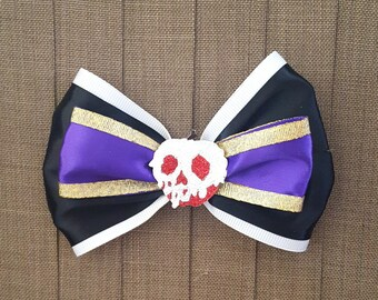 Disney Inspired Evil Queen Hair Bow