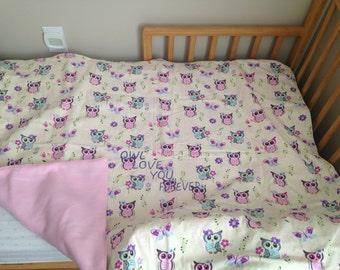 Owl Love You Baby Blanket #1