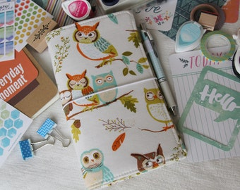 Owl Love Fabric Fauxdori