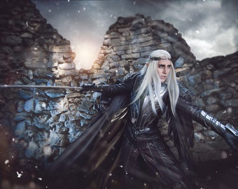 Thranduil cosplay armor High Quality hobbit lord of the rings full Armor