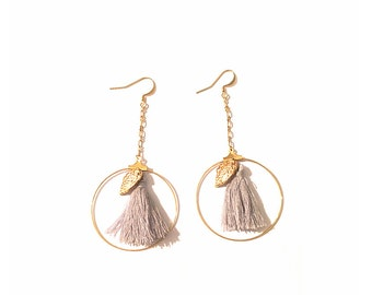 Earrings - CLEO gold