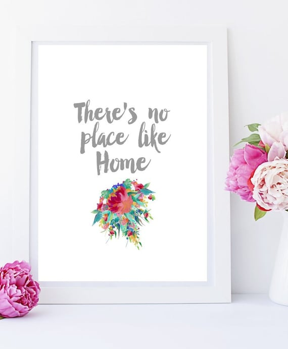 Theres No Place Like Home Art Print Printable By