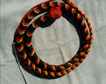 Fire Pattern Snake Whip