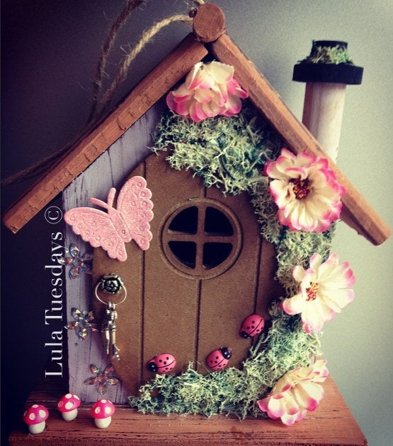 Fairy House Cottage Garden Ornament a home for the Fairies in your Garden