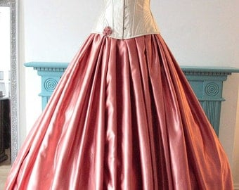 AMAZING all the SAME PRICE Sale of Sample Gowns...Stunning Southern Bell 'O'Hara' Gown, with corset, size 12