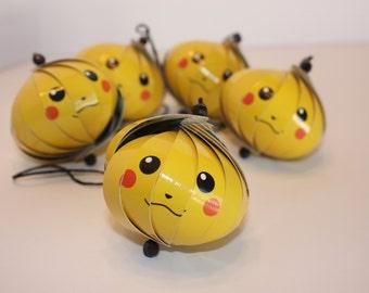 Pokemon Pikachu Ornaments
