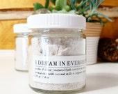 soothe + detox | organic vanilla bean + coconut milk bath soak