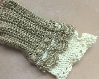 Fingerless Gloves Handmade Crochet