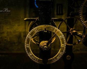 Inside The Clock Tower, Home Decor, Clock Wall Art, Kichen Art,Steampunk