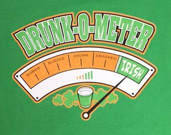 Drunk-0-Meter Irish St. Patrick's Day T-Shirt