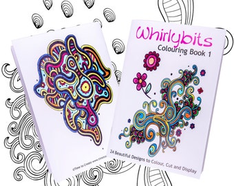 Brilliant Whirlybits Adult Colouring Book Volume 1