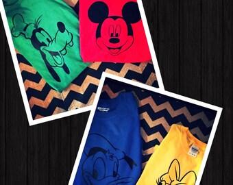 Disney Character Shirts