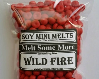 Wax Mini Melts Wild Fire scented melts for any wax warmers
