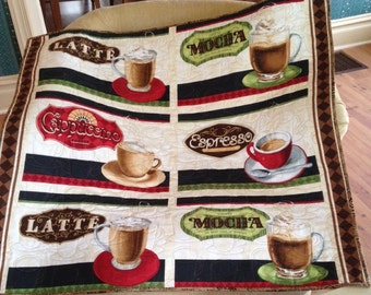 Call it Coffee, Latte, Mocha, Cappaccino or just plain Java this table topper or hanging doesn't mind