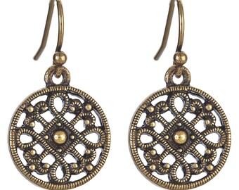 KAI Petite Earrings - Bronze