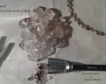 Elegant Herkimer Diamond Necklace