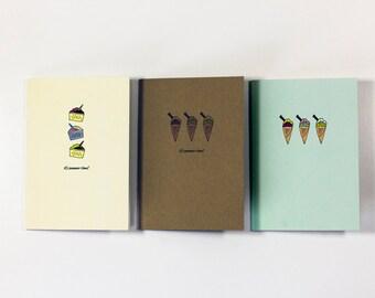 Ice Cream Greetings Cards