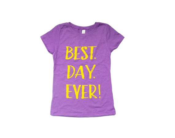 Kid's Best Day Ever Tee