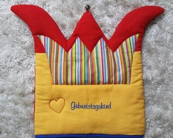 Chair Crown birthday child