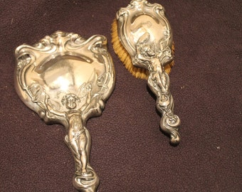 Items Similar To Beautiful Antique 1891 Art Nouveau