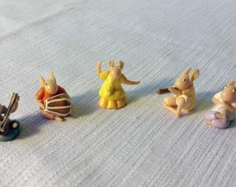 Minitrolls song circle - polymer clay toys
