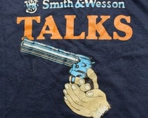1980's Smith and Wesson Gun T Shirt