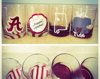 Collegiate highball glasses